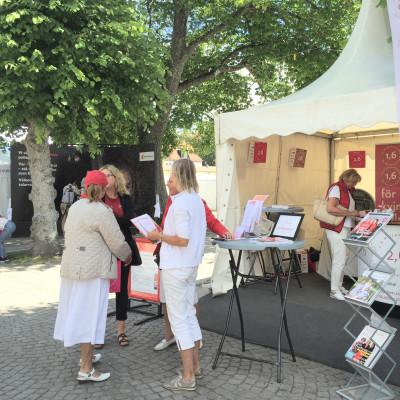 1,6 & 2,6 miljonerklubben i Almedalen med monter och seminarium  2-9 juli 2017..