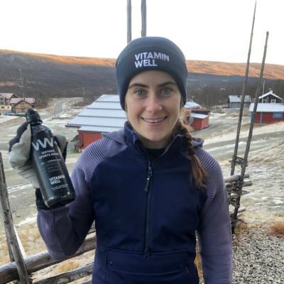 Längdstjärnan Ebba Andersson blir Vitamin Well-ambassadör