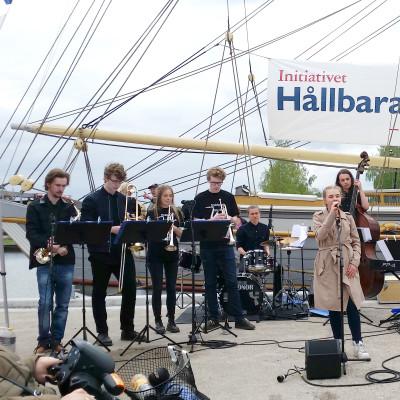 Samarbete ger hamnfest med Östersjöfokus när Briggen Tre Kronor/Hållbara Hav gästar Nyköping 16-20 maj