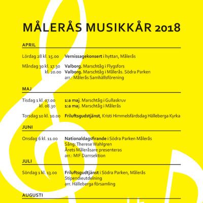 Målerås Musikkår 2018