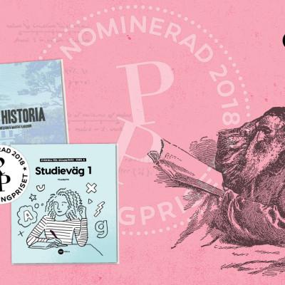 NA Förlag dubbelt nominerade till Publishingpriset 2018