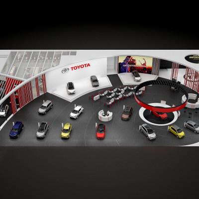 Innovative Toyota på Paris Motor Show