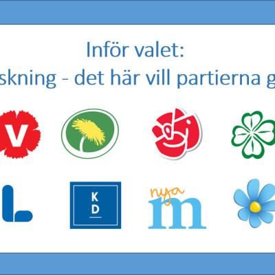 Forska!Sveriges kommentar inför valet
