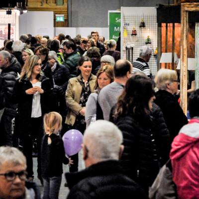 Breddad mässa gav rekordmånga besökare på Nolia Trädgård