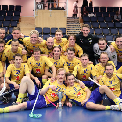 Sveriges herrar tog hem Euro Floorball Tour efter att ha slagit Finland med 5-1