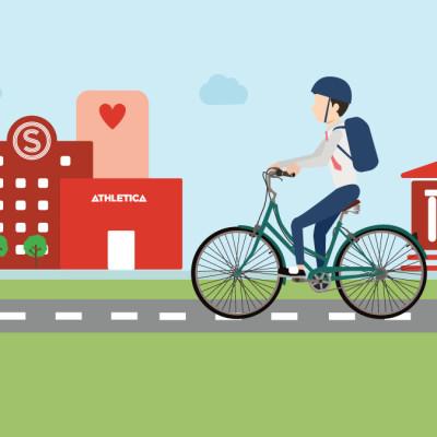 Gratis vårpuss av sykler på Bjølsen Studentby