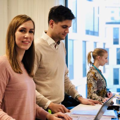 """Pernilla Randefalk om rollen som affärsutvecklare: """"Jag arbetar med att skapa förutsättningar för ett bättre samhälle""""."""