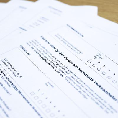 Önskar fler svar i årets medborgarundersökning