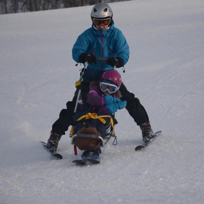 Ativitetshjelpemiddelopphold - alpint for barn og ungdom.