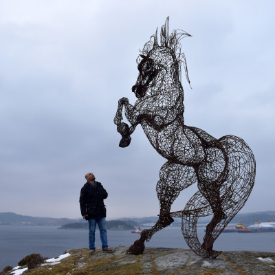 Uddevalla kommun hyllar den fria skulpturen