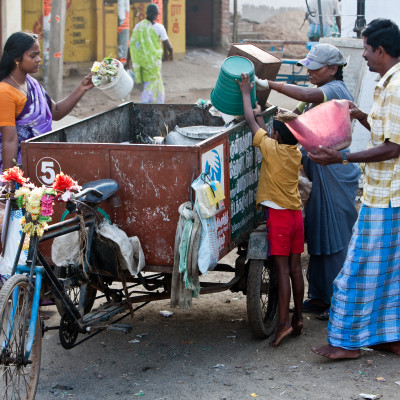 Roadshow i Sverige med indiska miljöprojektet Recycle for Life