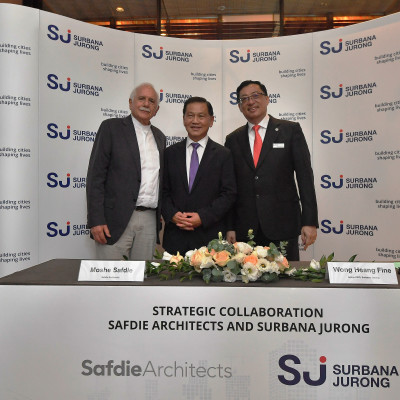 Safdie Architects and Surbana Jurong form collaboration to take on high-profile design projects jointly