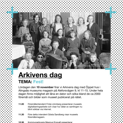 Arkivens dag_program