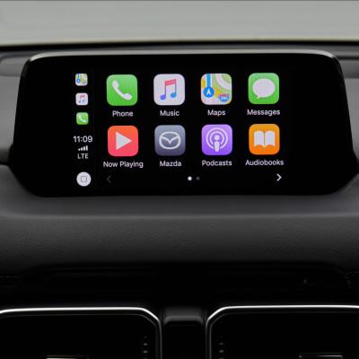 Mazda lanserer støtte for Apple CarPlay