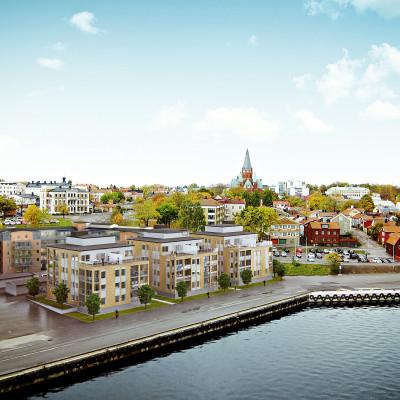 Pressinbjudan: Byggstart för Riksbyggens Brf Skeppsbrokajen i Västervik