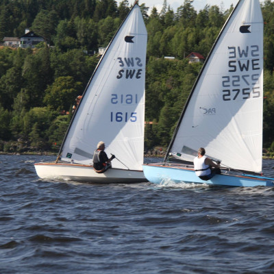 SM i OK-jolle seglas i Alingsås