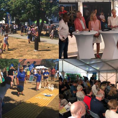 Seriösa samtal och glädjen av att idrotta under Idrottens dag i Almedalen