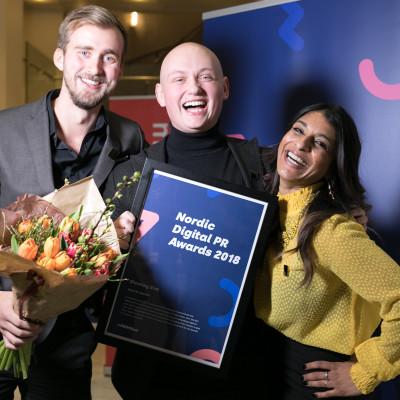 Her er vinnerne av Nordic Digital PR Awards