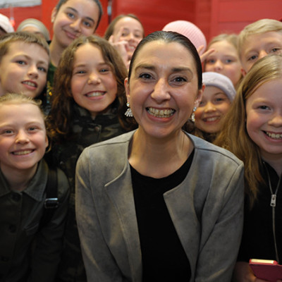 Barn i Västra Götaland hedrar kämpe för flickor i sexhandel