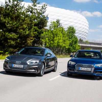 Audi satsar på klimatneutral gasdrift - lanserar A4 Avant och A5 Sportback g-tron