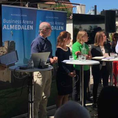 Einar Mattsson i Almedalen – för en långsiktigt hållbar bostadsmarknad
