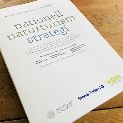 Näringens nya nationella naturturismstrategi lanserades i Almedalen