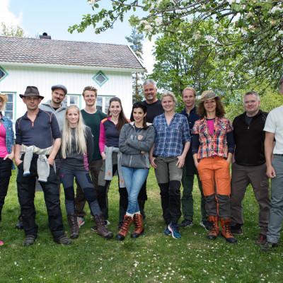 Dette er deltagerne i Farmen-Kjendis 2017