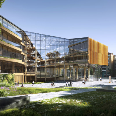 Bjergsted finanspark i Stavanger