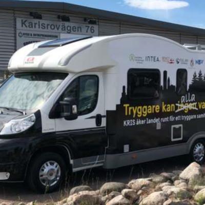 """mySafety Försäkringar sponsrar KRIS husbilsturné """"Tryggare kan alla vara""""."""