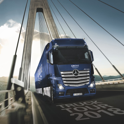 XXL Truck explores the traces of Friedrich GROHE in Iceland