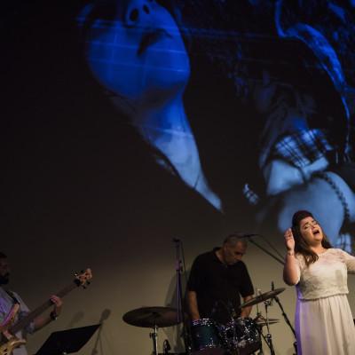 Hamsa Mounif (vokal) , Syriens Stjerner, koncert på Kulturværftet 22. september 2017