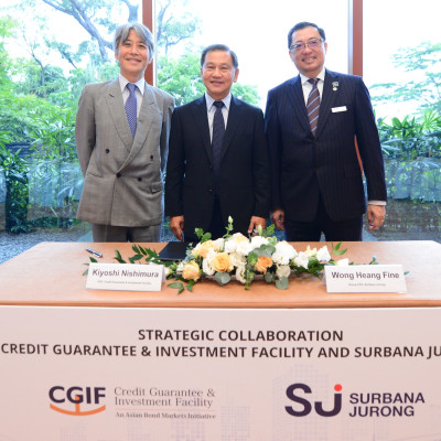CGIF and Surbana Jurong team up on greenfield project bonds
