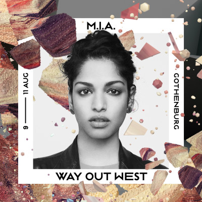 M.I.A. – Way Out West – 1080x1080pxl