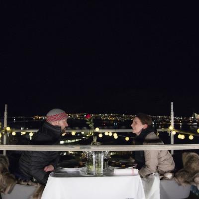 Tidenes Valentines date – To meter over Tromsøs tak