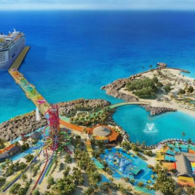 Royal Caribbean annonserer den første av flere nye private øydestinasjoner