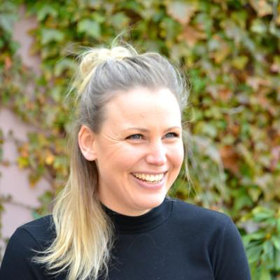 Angelica Larsson, projektledare Alingsås 400-årsjubileum. Eventansvarig Lights in Alingsås.