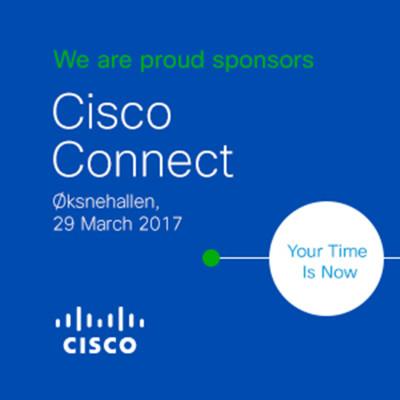 Meet us at Cisco Connect 2017 in Copenhagen!