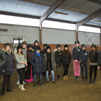 Nya vänner på Gothenburg Horse Show
