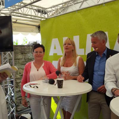 SKB Eva Nordström vd, Almedalen