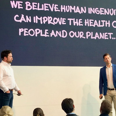 Human ingenuity can solve humanity's problems, Almedalen audience told by Bluewater owner, Blue