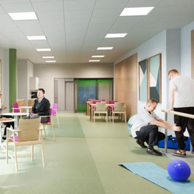 Kainuun uuden sairaalan peruskivi muurataan tänään – käyttäjien kanssa suunniteltu sairaala on tehokkaasti toimiva kivijalkaa myöten