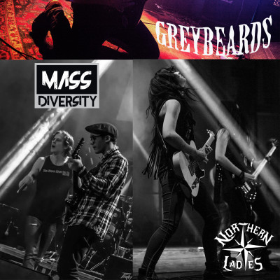 Greybeards - Northern Ladies - Mass Diversity - Live vid Kinesisk National Holiday Festival