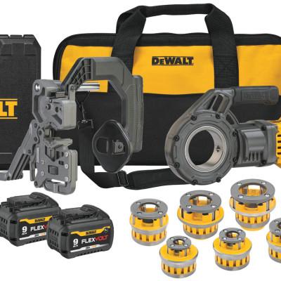 DEWALT® Announces FLEXVOLT® 60V MAX* Cordless Pipe Threader