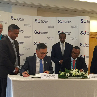 Surbana Jurong inks four MOUs to expand footprints in Africa