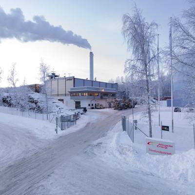 Ny biopanna invigs - stort steg mot fossilfri verksamhet