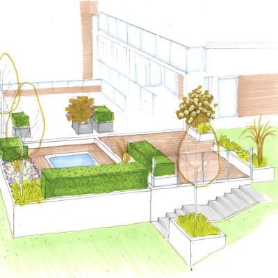 Grønn oase uten hage