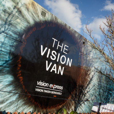 'Vision Van' drives positive change for macular disease burden, offering free eye tests for all in Blackpool