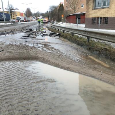 Vattnet tillbaka i Alingsås kranar