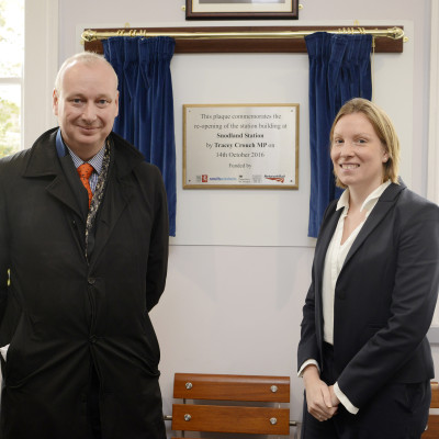 SNODLAND STATION TICKET OFFICE RE-OPENS AFTER 30 YEARS, THANKS TO £1.1M REDEVELOPMENT