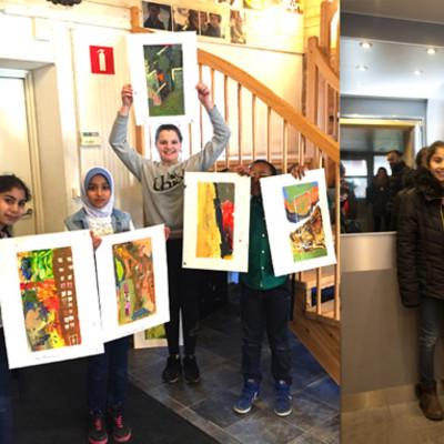 Pop-up galleri och kultur på Rosengårds centrum med Drömmarnas hus den 11-12 april